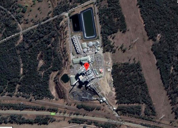 Hunter valley power station IOT group